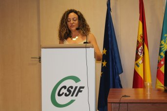 Mar Auñón, presidenta de CSIF Administración del Consell