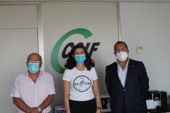 Rafael Cantó, Alicia Torres y Carlos Fornes