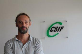Alberto García, responsable de Prisiones de CSIF Comunidad Valenciana