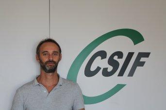 Alberto García, responsable de CSIF Prisiones Comunidad  Valenciana