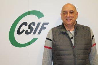 Vicente Matallín, delegado de CSIF Sanidad Comunidad Valenciana