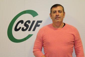 Emilio Fos, delegado de CSIF en el SES