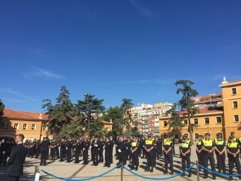 Celebración del Día de la Policía Local, en la que ha estado CSIF