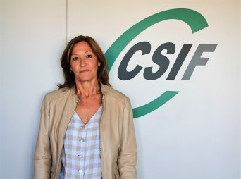 Susi delegada  de CSIF Sanidad Comunidad Valenciana