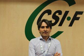 Artemio Almonacid, presidente de CSIF Educación Comunidad Valenciana