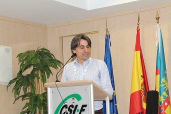 Artemio Almonacid, presidente de CSI·F Educación Comunidad Valenciana