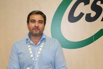 Rafael Benavent, delegado de CSIF Educación Comunidad Valenciana
