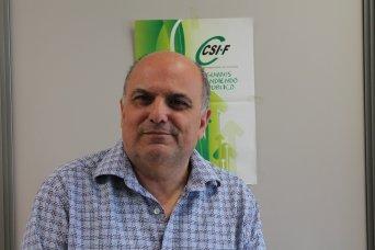 Rafael Cantó, presidente CSIF Sanidad Comunidad Valenciana