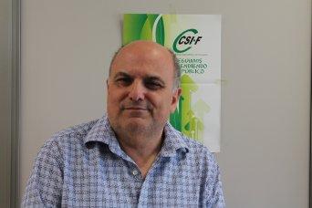 Rafael Cantól,  presidente de CSIF Sanidad Comunidad Valenciana