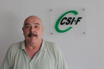 Julio Tamayo, presidente de CSI·F Administración Autonómica en la Comunidad Valenciana