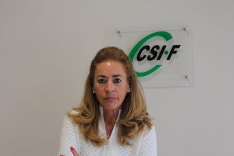 Dolly Prunés, vicepresidenta Sanidad CSI·F Comunidad Valenciana
