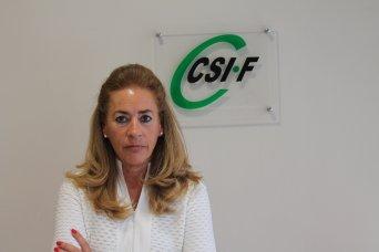 Dolly Prunés, presidenta provincial CSI·F Sanidad Valencia