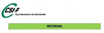 comité empresa ayuntamiento Santander