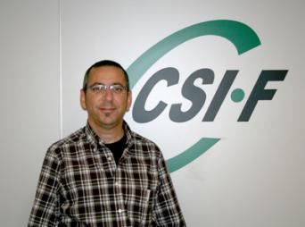 Jerónimo Parejo, presidente de CSI·F Empresa Privada