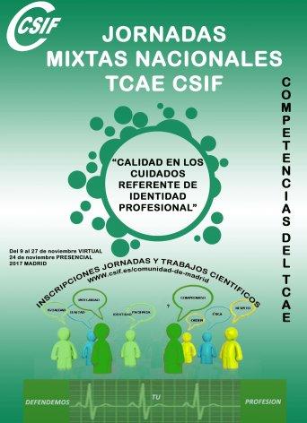 Jornadas TCAE CSIF Madrid 2017