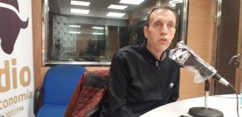 José Seco, presidente de CSIF Educación Comunidad Valenciana, durante una reciente intervención radiofónica en Intereconomía