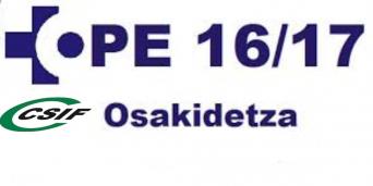 CSIF OPE OSAKIDETZA 2016 - 2017
