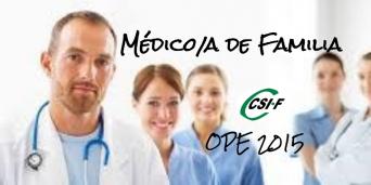CSIF OPE 2105 Médico de Familia