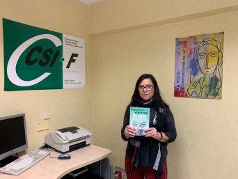 María de la Dueña, portavoz de CSIF en Correos