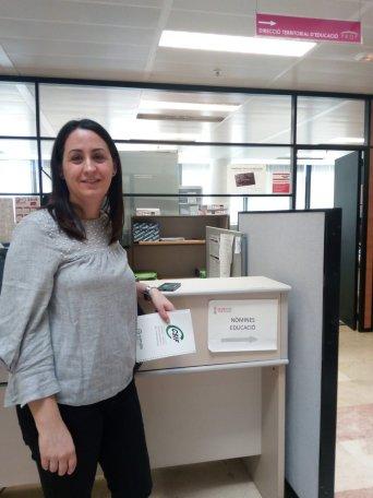 CSIF ha estado hoy en el departamento de nóminas de dirección territorial de educación de Valencia.