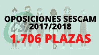 CONVOCATORIA OPOSICIONES OPE SESCAM 2017/2018