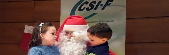 """Fiesta infantil """"Vive la Navidad"""" con CSIF Granada"""