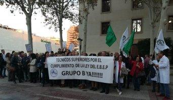 SIF apoya a la Plataforma de Técnicos Superiores Por el Grupo B de la Región de Murcia
