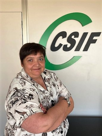 Ruth López, coordinadora de CSIF Empresa Privada