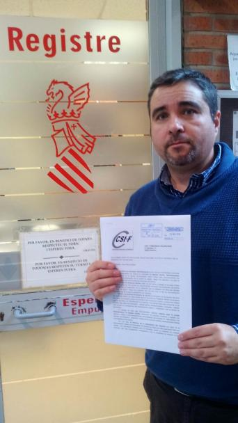 Rafael Benavent, delegado CSI·F Educación Comunidad Valenciana