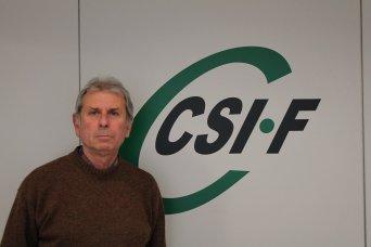 Juan Ramón Capilla, delegado de CSIF en Hospital Clínico de Valencia