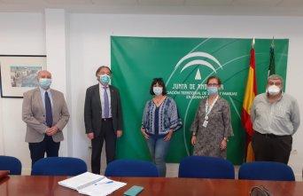 Reunión entre CSIF Granada y delegación Territorial de Salud y Familias 21/5/2020