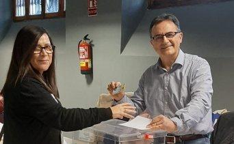 María de la Dueña, presidenta de CSIF Empresas Públicas Estatales en la Comunidad Valenciana