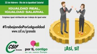 La brecha salarial entre hombres y mujeres en Granada se sitúa en un 17 %, mientras que las mujeres casi duplican a los hombres en contratos a tiempo parcial