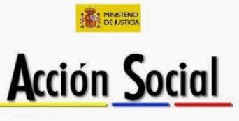 Acción social ambito Ministerio de Justicia