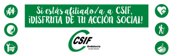 ¡Disfruta de la Acción Social de CSIF!