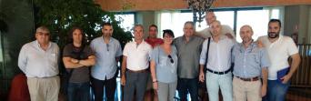 Reunión de trabajo del sector de Sanidad de CSIF-A con los delegados de las Agencias Públicas Sanitarias