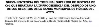 Banda de música del Ayuntamiento de Palencia