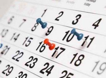 PREVISION FECHAS OPE 2017, 2018 Y EXTRAORDINARIA