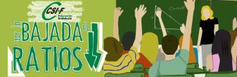 CSIF inicia una campaña para la bajada de ratios en las aulas