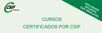 Cursos certificados por CSIF | 2º semestre 2018