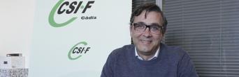 Enrique Estévez, presidente de la gestora de CSIF Cádiz