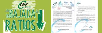 CSIF-A pide a los grupos parlamentarios el máximo apoyo a su campaña para la bajada de ratios en los centros andaluces