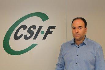 Ezequiel Archilla, vicepresidente autonómico de AGE de CSI·F Comunidad Valenciana