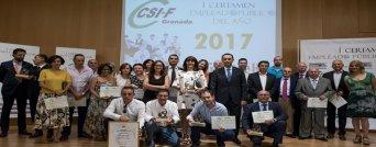 I Certamen Empleado Público del Año CSIF Granada