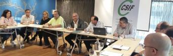 Los letrados de CSIF de toda Andalucía se reúnen en Cádiz