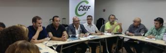 El Sector de Justicia de CSIF-A celebra unas jornadas de formación para delegados en Cádiz