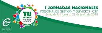 I Jornadas Nacionales | Personal de Gestión y Servicios | CSIF Sanidad Andalucía