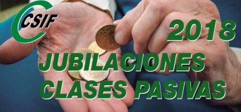 INFORMACIÓN JUBILACIÓN CLASES PASIVAS 2018