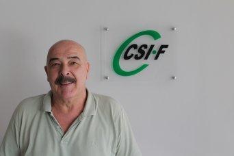 Julio Tamayo, presidente de CSI·F Administración Autonómica Comunidad Valenciana