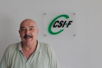 Julio Tamayo, presidente de CSIF Administración Autonómica Comunidad Valenciana